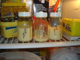 quantité de lait tiré