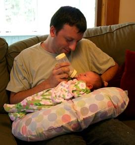 sevrer bébé