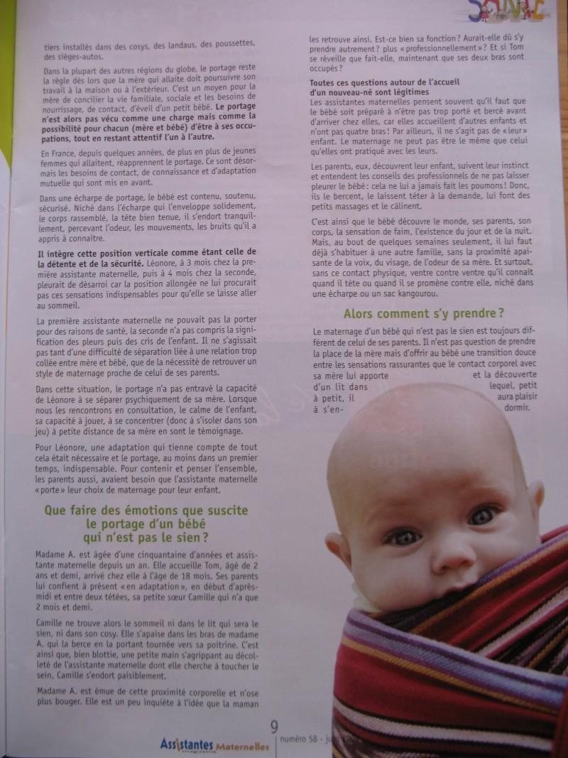 Assistante maternelle magazine